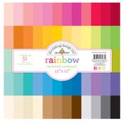 Rainbow Textured Cardstock Assortment Pack - Doodlebug