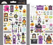 Happy Haunting Mini Icons Stickers - Doodlebug