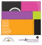 Happy Haunting Cards & Envelopes - Doodlebug