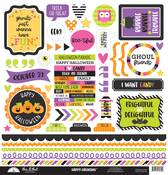 Happy Haunting This & That Sticker Sheet - Doodlebug
