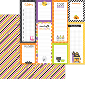 I Want Candy Paper - Happy Haunting - Doodlebug
