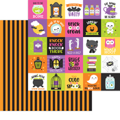 Bewitched Paper - Happy Haunting - Doodlebug