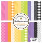 Happy Haunting Petite Prints Assortment Pack - Doodlebug