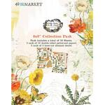 Vintage Artistry In The Leaves 6x8 Collection Pack - 49 And Market