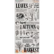 Vintage Artistry In The Leaves Washi Tape - 49 And Market
