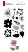Build-A-Flower: Fashion Monger Dahlia Layering Stamp & Die Set - Altenew
