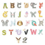 Animal Alphabet Thinlits Dies - Sizzix - PRE ORDER