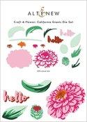 Craft-A-Flower: California Giants Layering Die Set - Altenew