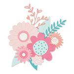 Bold Flowers Thinlits Dies - Sizzix