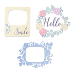Rounded Picture Frames Thinlits Dies - Sizzix