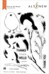 Bird of the Woods Stamp Set - Altenew