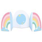 Rainbow Fold-a-Long Card Thinlits Dies - Sizzix