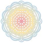 Heart Mandala Thinlits Die - Sizzix