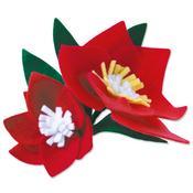 Seasonal Florals 3D Bigz Die - Sizzix