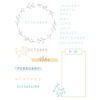 Journal Stamp Set - Sizzix - PRE ORDER