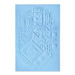 Interface 3D Textured Impressions Embossing Folder - Sizzix