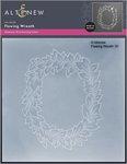 Flowing Wreath 3D Embossing Folder - Altenew