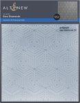 Geo Diamonds 3D Embossing Folder - Altenew