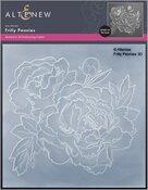 Frilly Peonies 3D Embossing Folder - Altenew