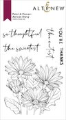 Paint-A-Flower: African Daisy Outline Stamp Set - Altenew