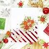 Diagonal Stripes Hot Foil Plate - Pinkfresh Studio