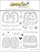 Hedgehugs 6x6 Stamp Set - Honey Bee Stamps