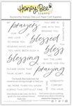 Praying Big Time 6x8 Stamp Set - Honey Bee Stamps