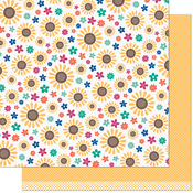 Sunny Remix Paper - Sweater Weather Remix - Lawn Fawn