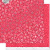 Shiver Paper - Let It Shine Snowflakes - Lawn Fawn