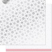 Polar Paper - Let It Shine Snowflakes - Lawn Fawn