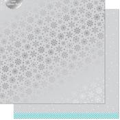 Brrr Paper - Let It Shine Snowflakes - Lawn Fawn