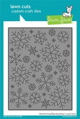 Stitched Snowflake Backdrop Die - Lawn Fawn