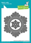 Stitched Snowflake Frame Die - Lawn Fawn
