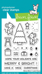 Merry Mice Clear Stamps - Lawn Fawn