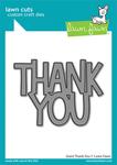 Giant Thank You Lawn Cuts - Lawn Fawn