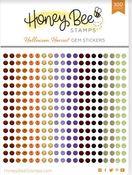 Halloween Harvest Gem Stickers - Honey Bee Stamps