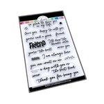 Best Kind of Friend Sentiments Stamp Set - Catherine Pooler