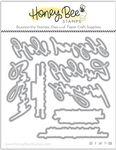 Praying Big Time Honey Cuts - Honey Bee Stamps