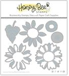 Lovely Layers: Sunflowers Honey Cuts - Honey Bee Stamps