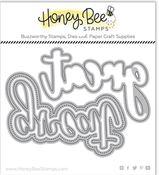Great Buzzword Honey Cuts - Honey Bee Stamps