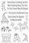 Stuffed Santa Clear Stamps - My Favorite Things