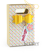 Bag With Bow Die - i-Crafter