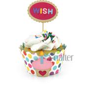 Cupcake Wrapper Die - i-Crafter