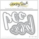 Boo Buzzword Honey Cuts - Honey Bee Stamps