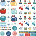Frostival Pre-Colored Dies Paper - Photoplay - PRE ORDER