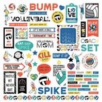 MVP Volleyball Element Sticker Sheet - Photoplay - PRE ORDER