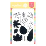 Two-Step Leaves Stamp Set - Waffle Flower Crafts