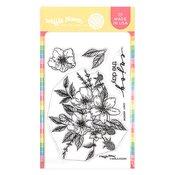 Anemone Stamp Set - Waffle Flower Crafts