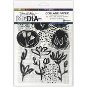 Things That Grow Dina Wakley Media Collage Tissue Paper - PRE ORDER