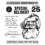Jolly Santa Tim Holtz Cling Stamps - Stampers Anonymous